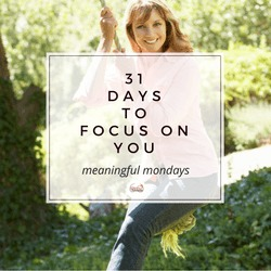 31 days to focus on YOU